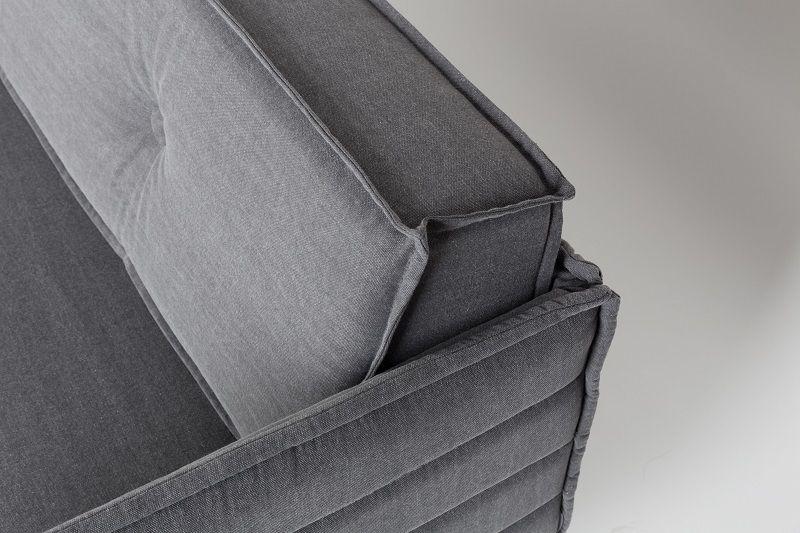 Zuiver - Jaey 2-pers. sofa - Grå - Elegant 2-personers sofa