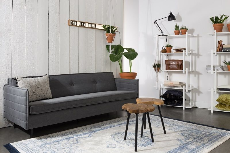 Zuiver Jaey 2-pers. sofa - Grå