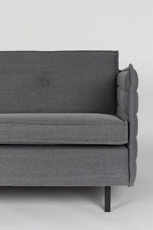 Zuiver Jaey 2-pers. sofa - Grå - Elegant 2-seter sofa