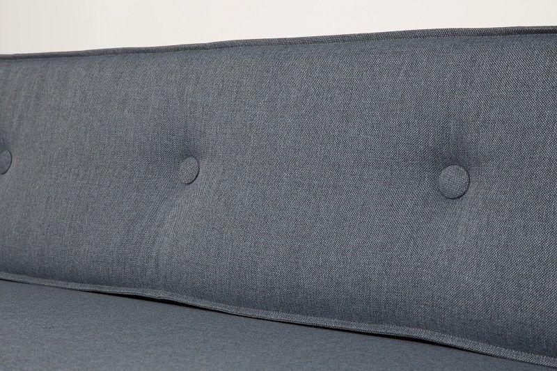 Zuiver Jaey 3-personers Sofa - Blå - Elegant 3-personers sofa