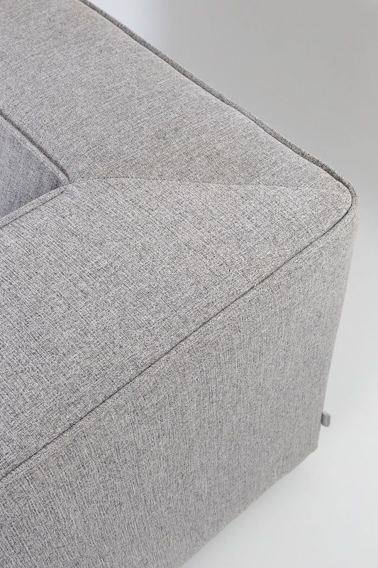 Zuiver King Sofa 3,5-pers. - Lys grå