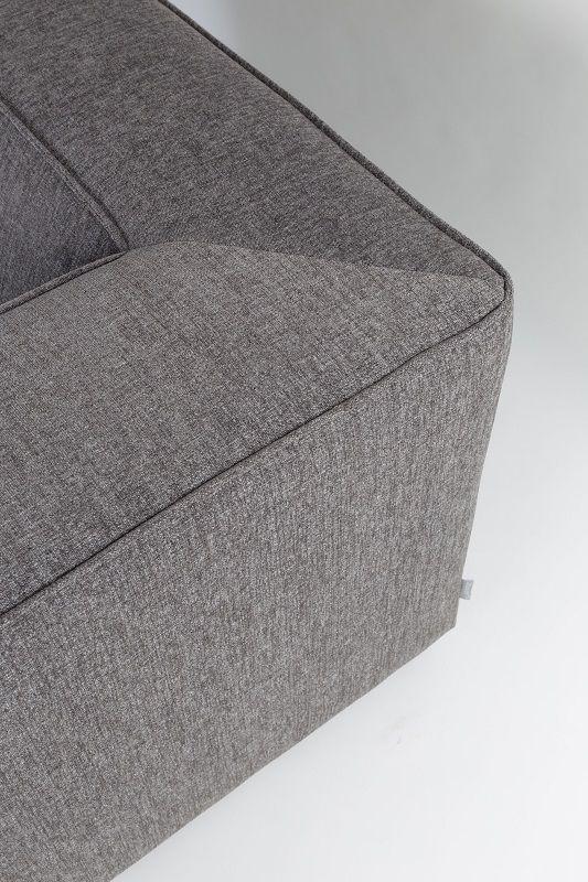 Zuiver King Sofa 3,5-pers. - Mørk grå