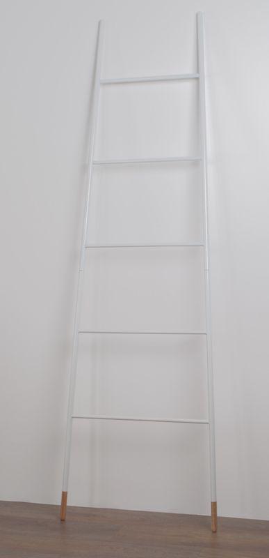 Zuiver - Ladder Rack Tøjstativ - Hvid - Hvidt tøjstativ