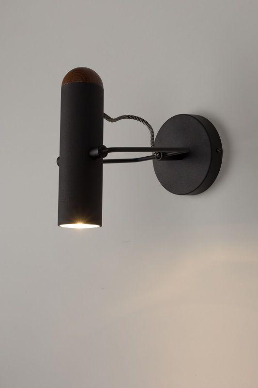 Kæmpestor Zuiver Marlon Væglampe - Sort CT97