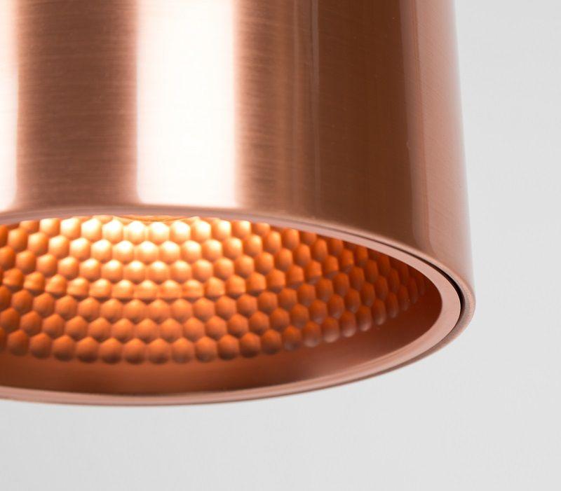 Zuiver - Marvel - Kobber - Moderne loftlampe i kobber
