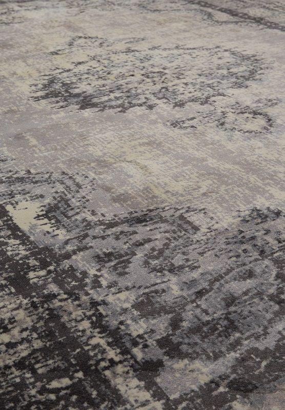 Zuiver Marvel Orientalsk Tæppe - Grå - 200x300 - Orientalsk inspirert teppe 300x200 cm