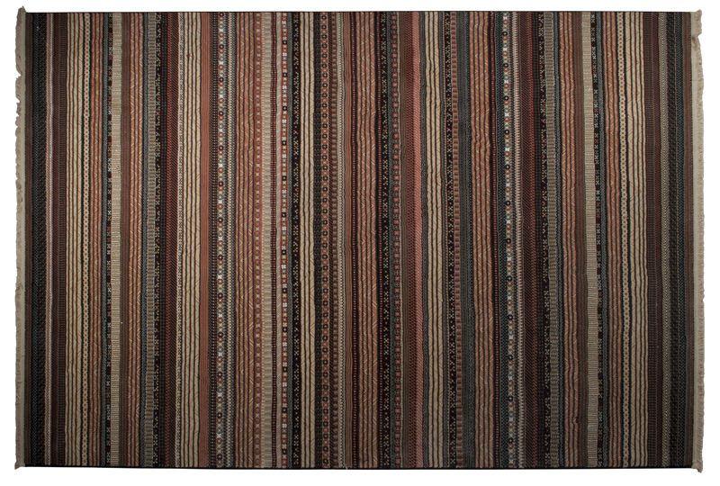 Zuiver - Nepal Orientalsk Tæppe - Multi - 200x295 - Vævet tæppe i orientalsk design og farver