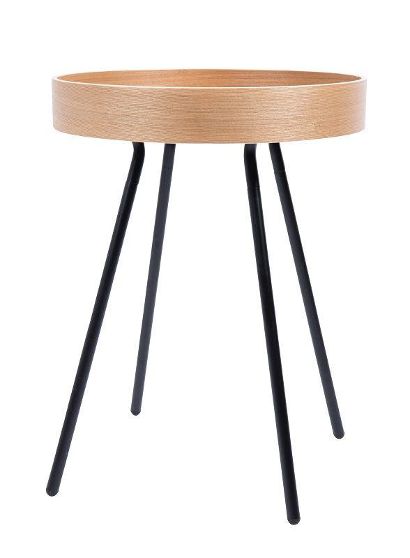 Zuiver - Oak Sidebord - Lys ege finér - Sidebord i krydsfiner og egefiner