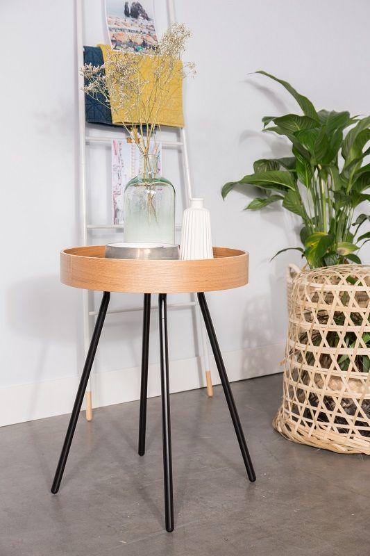 Zuiver Oak Sidebord - Lys ege finér - Sidebord i kryssfiner og eikefiner
