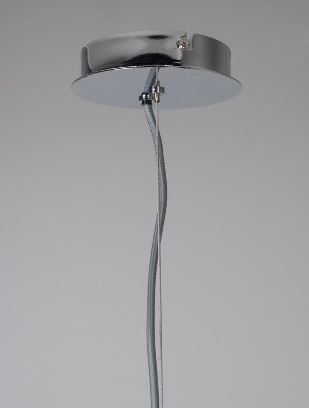 Zuiver Retro Pendel - Krom - Ø50 - Stor retro pendel i flott metall
