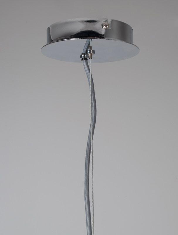 Zuiver - Retro Pendel - Krom - Ø50 - Stor retro pendel i flot metal