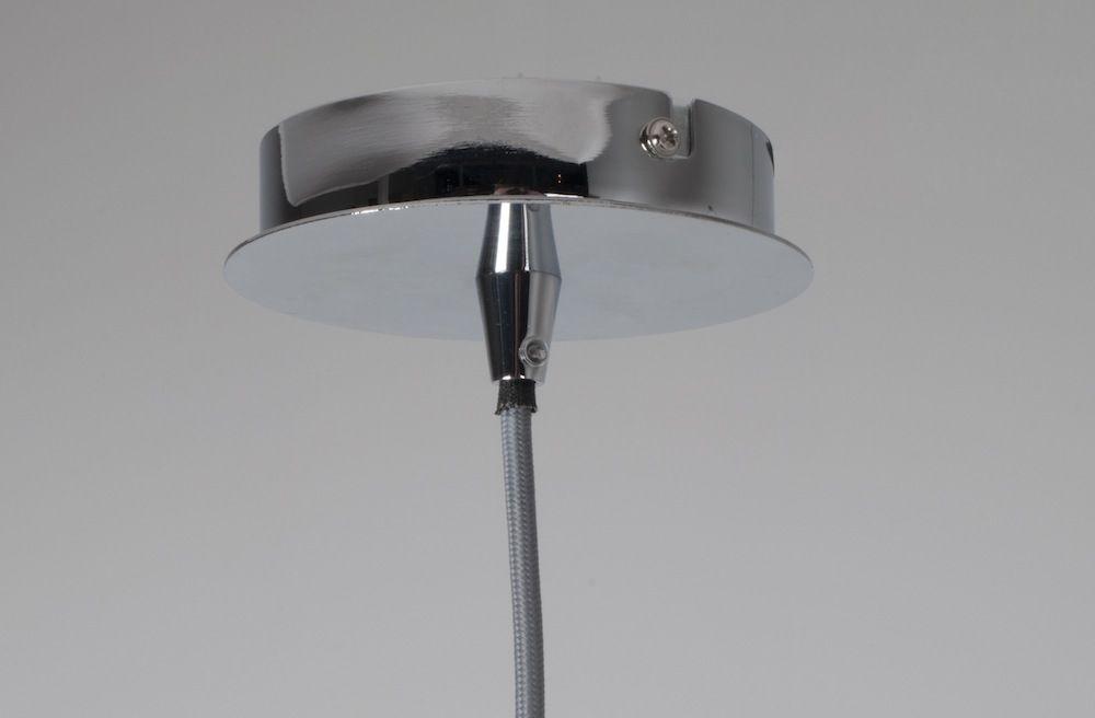 Zuiver - Retro Pendel - Metal - Ø40 - Pendel i krom