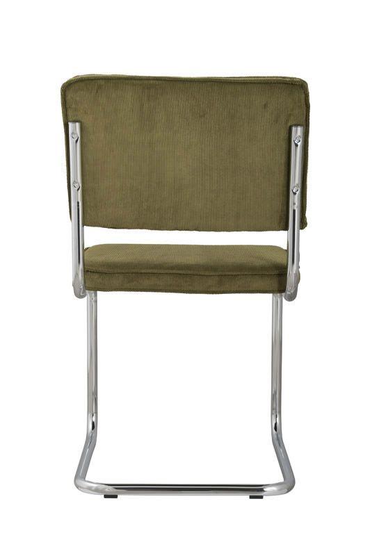 Zuiver - Ridge Spisebordsstol - Grøn fløjl - Grøn spisestol til spisestuen