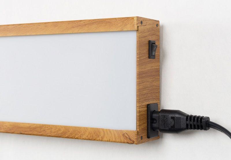 Zuiver Saber væglampe - Hvid/sort