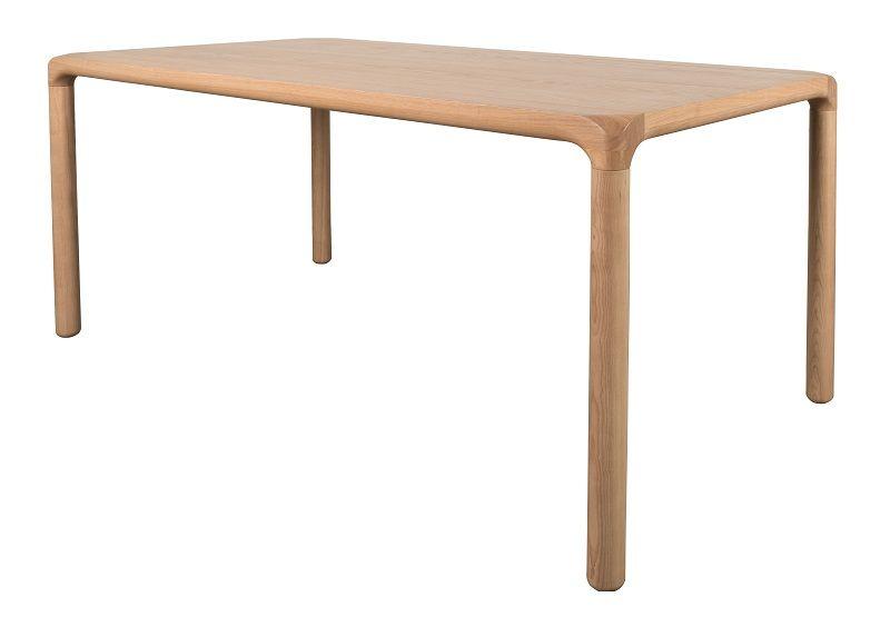 Zuiver Storm Spisebord - Lys Træ - 220 cm - Spisebord i lyst træ