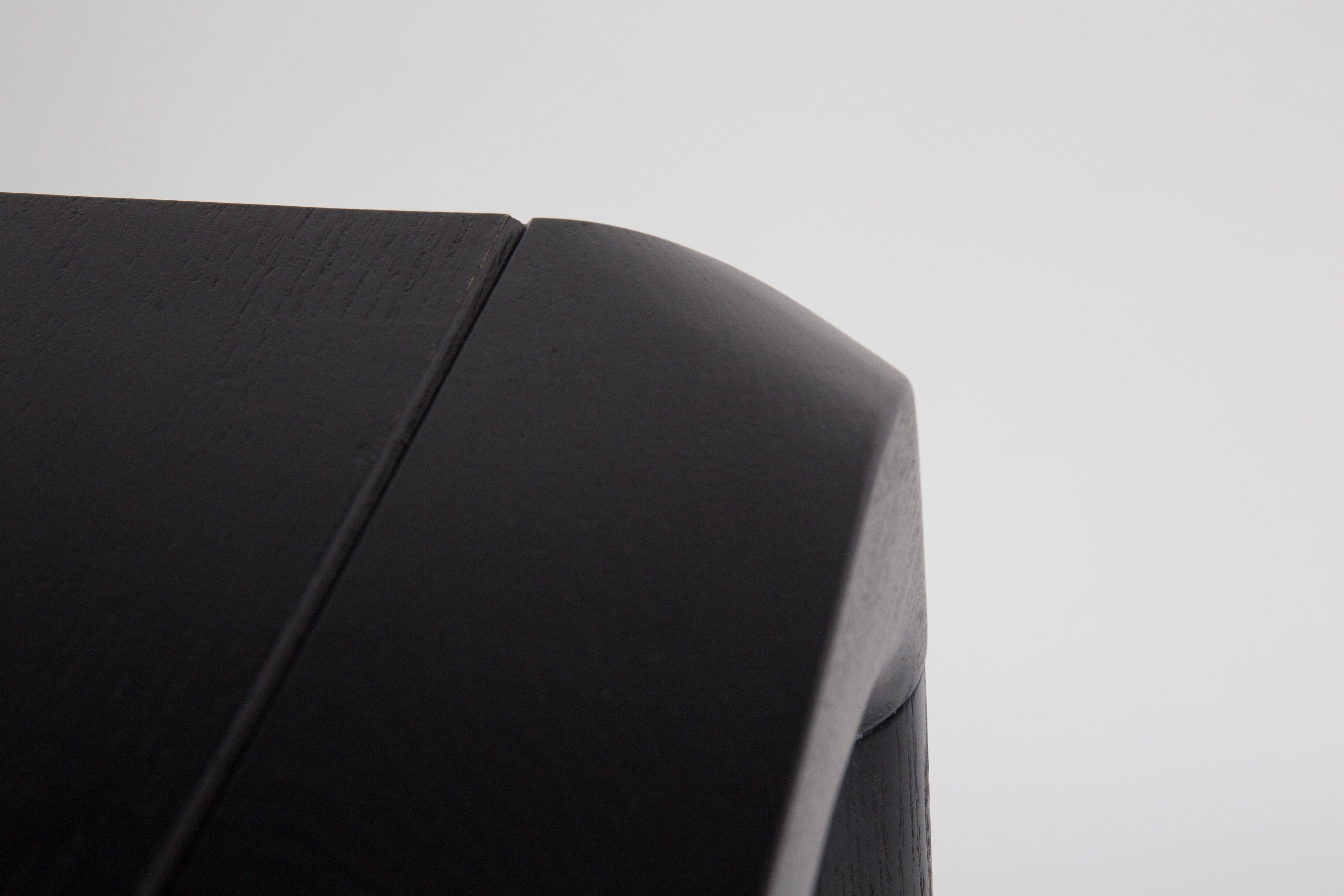 Zuiver - Storm Spisebord - Sort Askefinér - 180 - Sortlakeret spisebord 180 x 90 cm