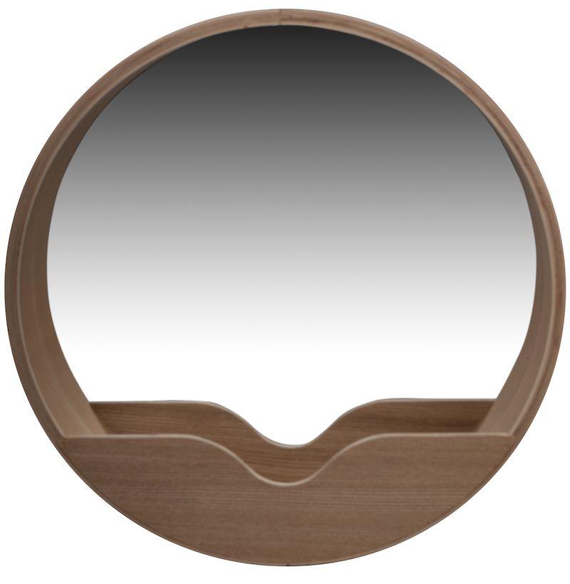 Zuiver Wall '60 Spejl - Spejl i naturtræ