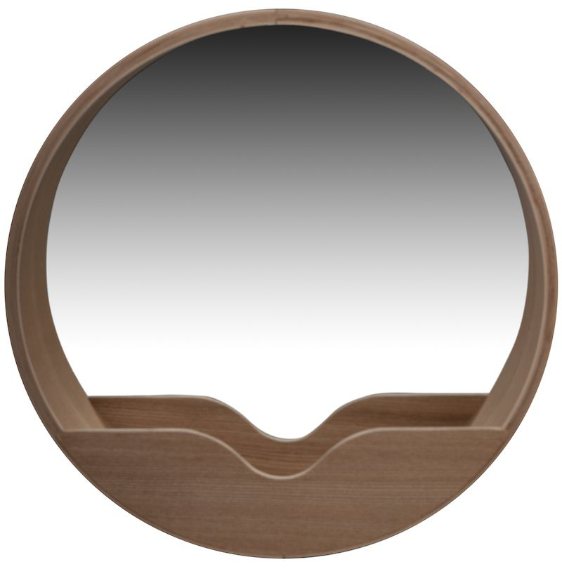 Zuiver Wall '60 Spejl - Lystræ - Speil i naturtre