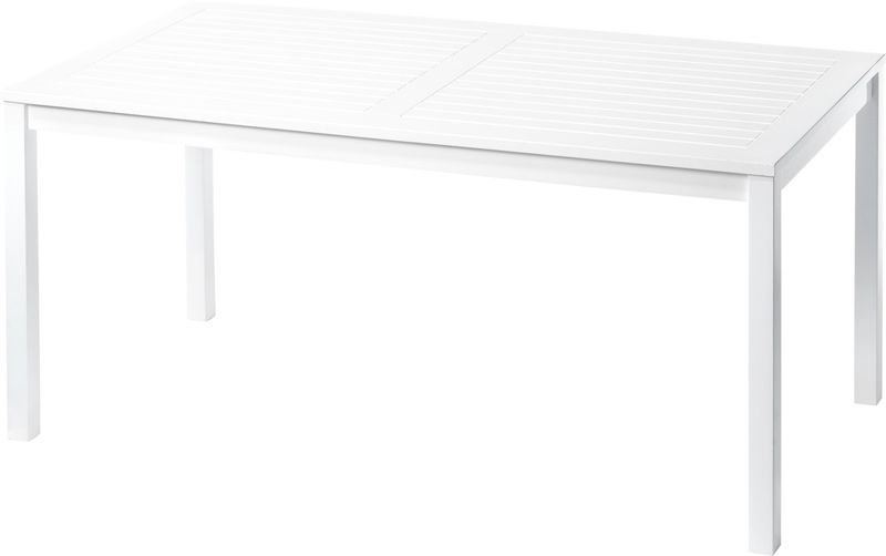 Løkken  Havebord - Hvid - Havebord i hvidmalet mahogni