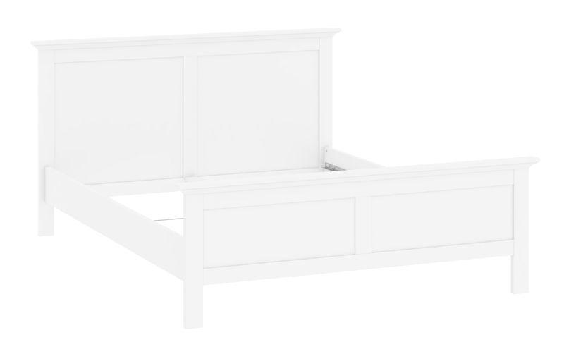 Paris Sengeramme - 160x200 - Hvid