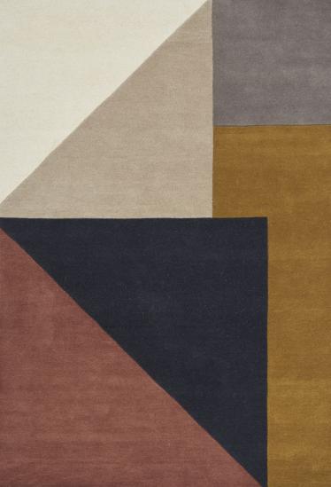 Linie Design Arguto multi Håndtuftet,Uld - 200x300 - Multifarvet tæppe i uld