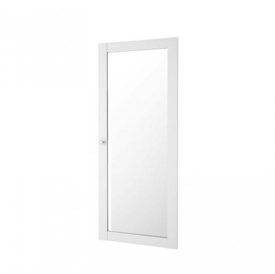 Basic Ekstra låge - Hvid m/glaslåge