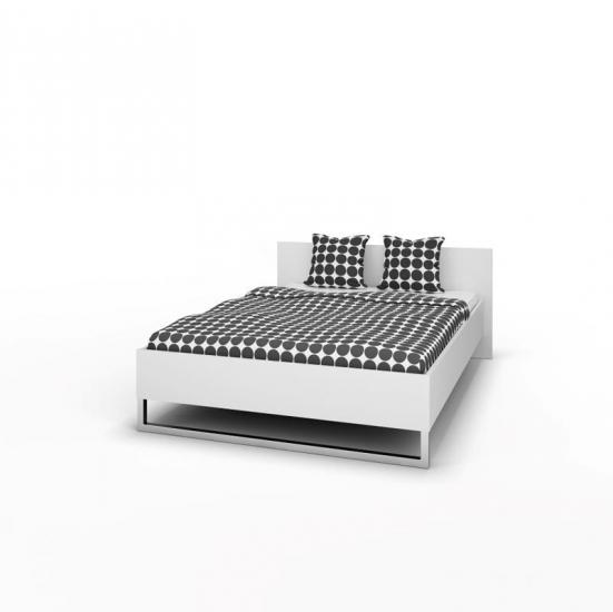 Style Sengeramme - Hvid 140x200