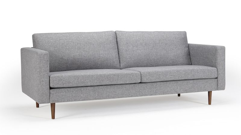 3 personers sofa Kragelund Furniture   Otto 3 pers. sofa Grå   Gratis fragt 3 personers sofa