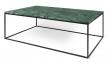 Temahome - Gleam Sofabord - Grøn m/sort stel 120 cm