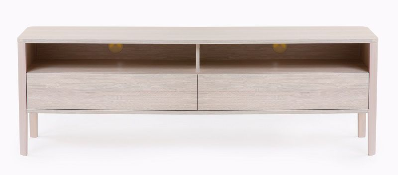 Woodman - Oslo Tvbord m/2 skuffer - MFC - Tv-bord med to skuffer
