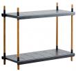Caneline - Frame Reolsystem m/2 hylder - Grå
