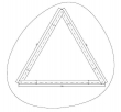 Cane-line - Bordplade til Wave stel - Glas