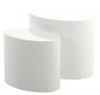 Priam Sofabord - Hvid højglans