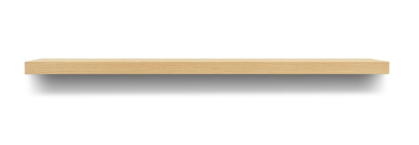 Temahome Balda Svævehylde, egefinér, 120x22