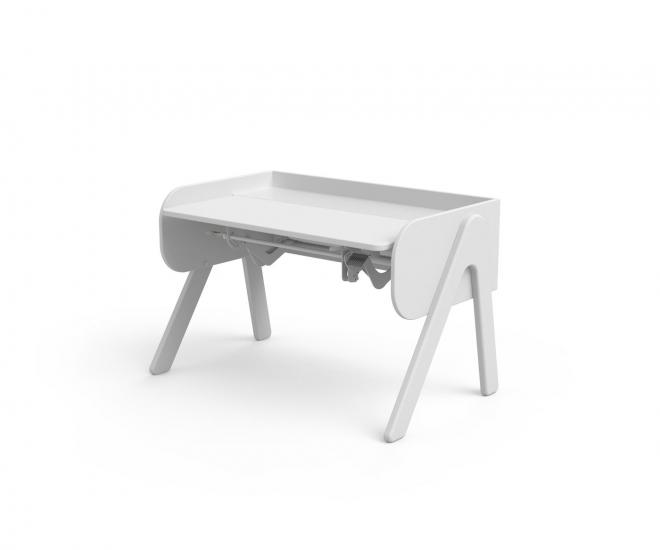 FLEXA - Study - Woody skrivebord m. Vip - Hvid