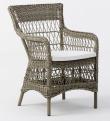 Sika-Design Marie Stol med armlæn - Antik grå