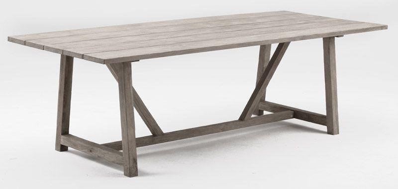 Sika-Design George Teak Havebord, 240x100 - Teak by Sika