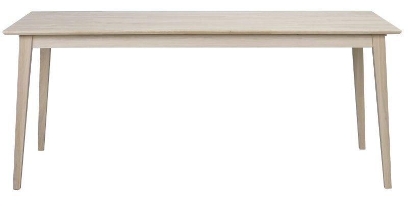 Gabriella Spisebord - hvidvasket eg - Spisebord i massiv eg