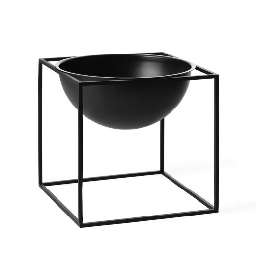 by Lassen - Kubus Bowl 23x23 - Sort