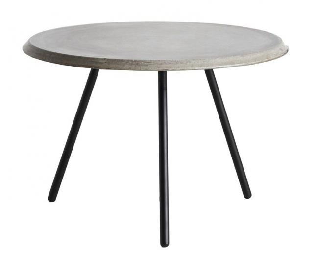 WOUD - Soround Sidebord Ø60 - Grå - Sidebord i fiberbeton