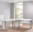 Prima Skrivebord - Hjørneskrivebord i hvid