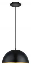 Gaetano Pendel Sort - Ø38 - Rund sort pendel - Ø38 cm