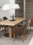 Amada Spisebordsstol - Brun PU læder