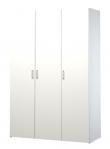 Space Garderobeskab - 3 låger - Hvid