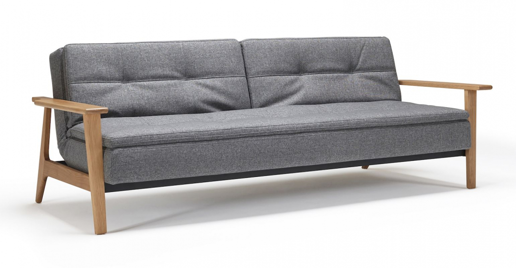 Innovation Living, Dublexo Frej Sovesofa Koksgrå - Koksgrå sovesofa 115x210 cm