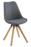 Fryd Spisebordsstol - Mørkegrå stof