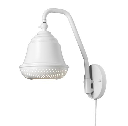 Design by us Design by us bellis 160 væglampe - hvid fra unoliving.com