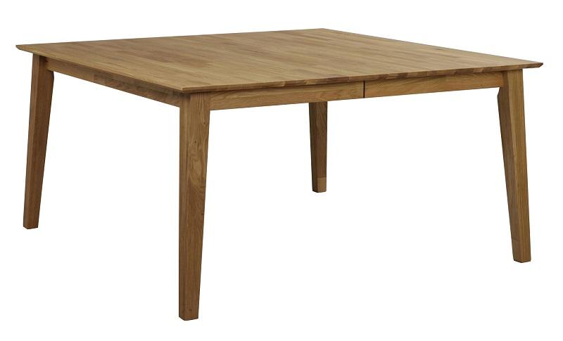 N/A – Gabriella spisebord med tillægsplade - eg på unoliving.com