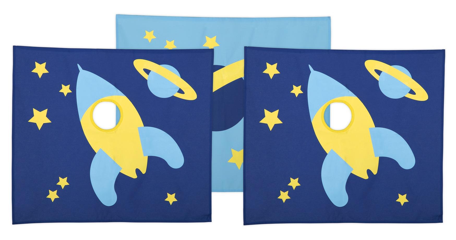 Flexa - space legeforhæng - blå fra Flexa fra unoliving.com