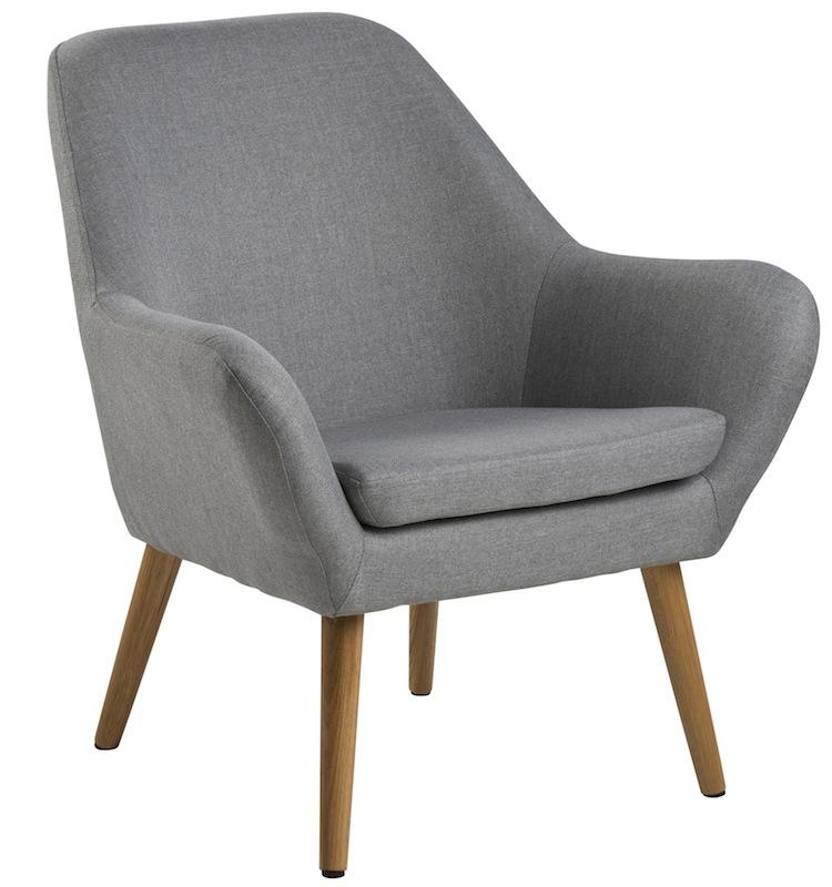 N/A Boyd loungestol -lys grå fra unoliving.com